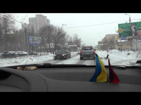 Киев после снегопада готовится к наводнению