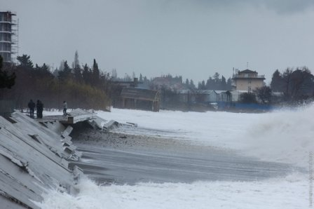 Новый шторм в Сочи: Что ждет дорогие Олимпийские объекты