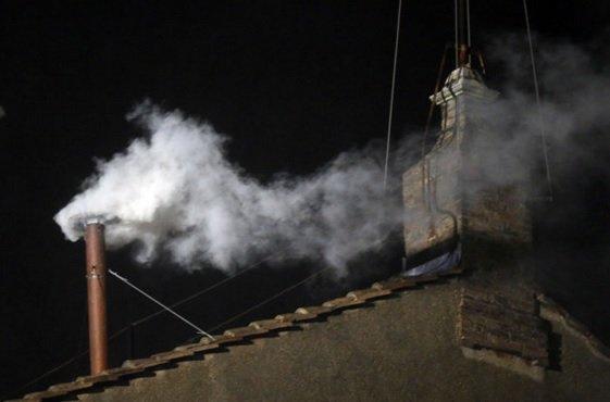 White smoke vatican