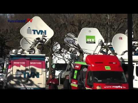 Германия: Ганновер встретил Путина протестами / Голландия встретит теплее