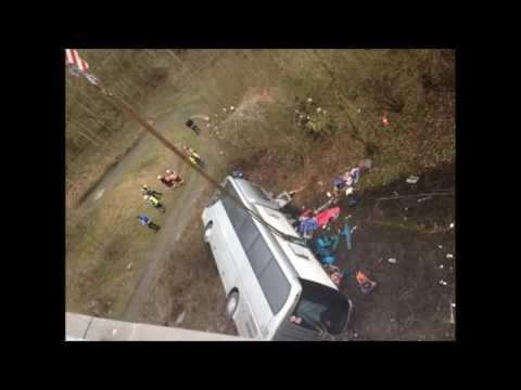Бельгия: Разбился автобус с детьми из России