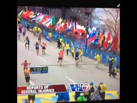 Бостонский марафон: Два мощных взрыва у финишной черты 15 апреля 2013 года