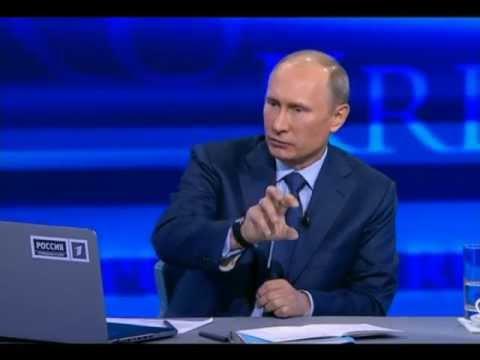 Прямая линия Путина 25 апреля 2013 года / Подробный анализ лжи