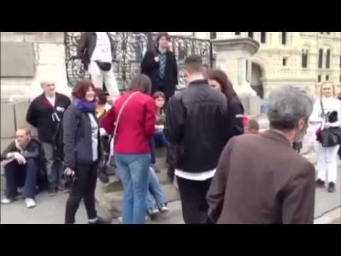 Путинская Россия: Массовые аресты на Красной площади в Москве