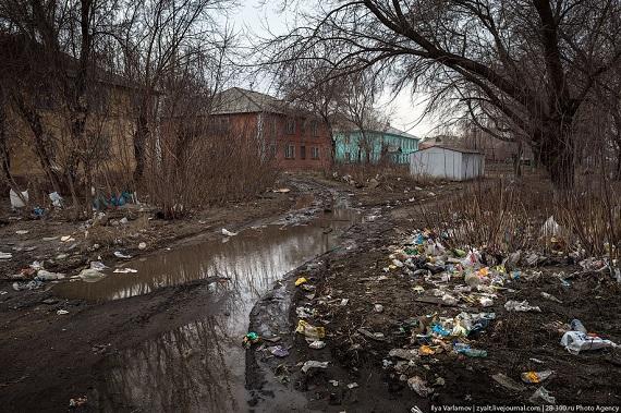 Омск: О мусоре в своих дворах