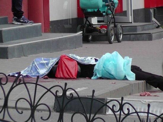 Бойня в Белгороде: Ублюдок на BMW X5 застрелил 6 прохожих