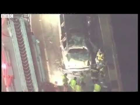 Сан-Франциско: Пожар в лимузине унес 5 жизней