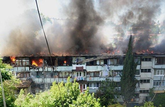 Сочи Олимпиада 2014: Третий пожар за неделю в одной общаге