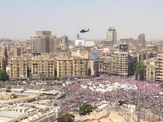 Площадь Тахрир в Каире 30 июня 2013 года: Массовые акции протеста Прямой эфир / Трансляция