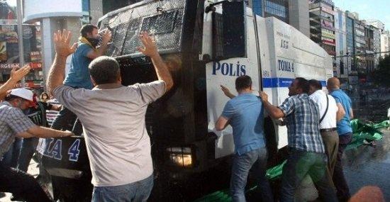 Протесты в Турции Июнь 2013 года Прямой эфир / Трансляция