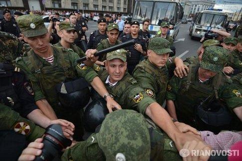 Москва Манежная площадь: Приговор Навальному и Офицерову 18 июля 2013 года Прямой эфир / Трансляция martik31