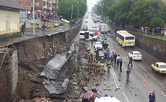 Красноярск: Стена рухнула после ремонта и убила двоих