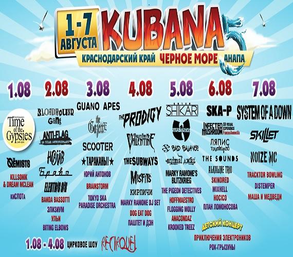 kubana 2013