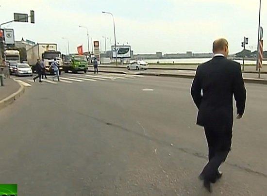Чекист пУТИН в маразме: Проштрафился на 500 рублей