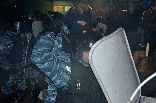 Киев: Кровавая Ёлка Януковича