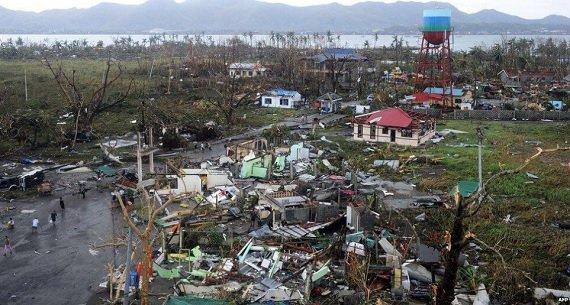 Филиппины: Мощнейший тайфун Хайян ноябрь 2013 года Прямой эфир / Трансляция