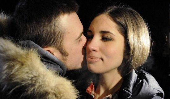 Толоконникова и Алехина на свободе: Pussy Riot 23 декабря 2013 года