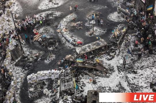 Революция Украина Евромайдан 6 февраля 2014 года Прямой эфир / Трансляция