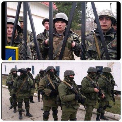 Оккупация Крыма бандой с Лубянки: Путин объявил Украине войну / Видео Март 2014 года