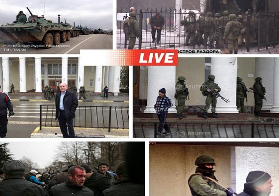 krym ukraine occupation 2014