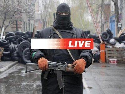 Украина Восток Вторжение путина: Оккупация Террор 3 — 4 мая 2014 года Прямой эфир / Трансляция