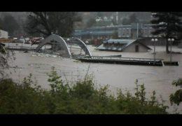 Катастрофическое наводнение в Сербии и Боснии Май 2014 года