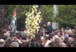 Абхазия — Протест в Сухуми 27 мая 2014 года / Анкваб не Янукович?