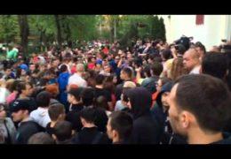Погром в подмосковном Пушкино 15 мая 2014 года
