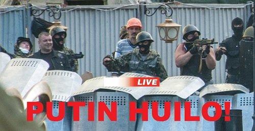 Украина Восток Вторжение путина: Оккупация Террор 21 — 25 мая 2014 года Прямой эфир / Трансляция