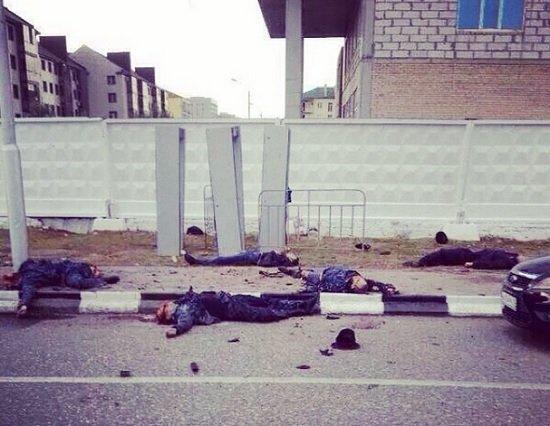 Теракт в Грозном: Взрыв у рамок при входе на концерт 05 октября 2014 года / каДЫРовская Чечня