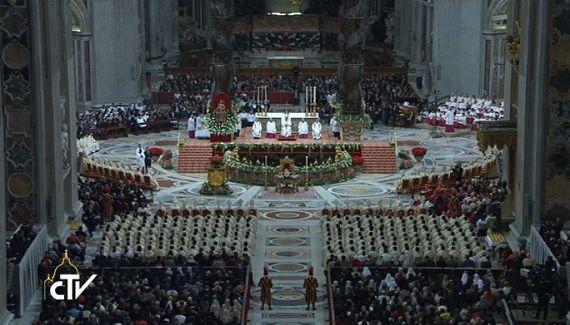 Рождественская месса в Ватикане: 24 — 25 декабря 2019 года Прямой эфир / Трансляция