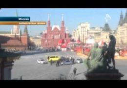 Менты задержали эвакуатор после погони на Красной площади