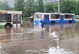Ливень и потоп в Москве 22 мая 2015 года Онлайн Трансляция