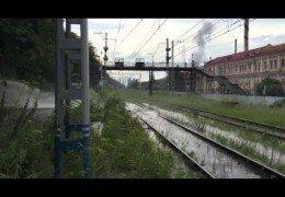 Пермь в фекалиях 2015: Фонтан дерьма остановил движение электропоездов и затопил завод