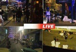 Террор в Париже 14 ноября 2015 года Трансляция Прямой эфир