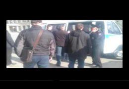 Новосибирск Монстрация Террор: Фашисты эшники арестовали Артема Лоскутова 01 мая 2016 года