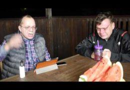Выборы обсуждают Лаврентий Августович и его помощник Шурка