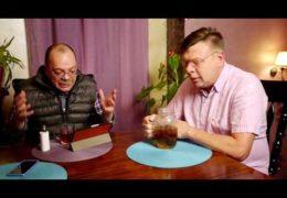 Победу Трампа обсуждают Лаврентий Августович и его помощник Шурка