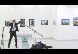 Месть за Алеппо: Посол путинской России убит в Турции 19 декабря 2016 года Прямой эфир / Трансляция