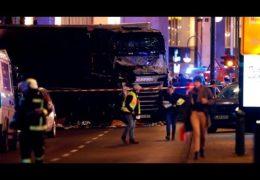 Теракт в Берлине: Грузовик протаранил толпу людей на ярмарке 19 декабря 2016 года Трансляция