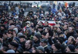 Беларусь протестует: Марш недармоедов в Гомеле 19 февраля 2017 года