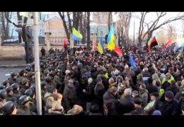 Народное вече на Майдане Независимости: Годовщина Революции достоинства 19 февраля 2017 года