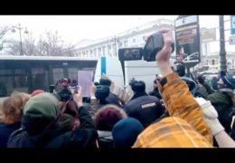 Русские феминистки и путинский фашизм 8 марта 2017 года