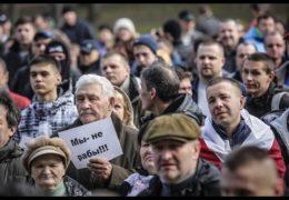 Жыве Беларусь!: Марш недармоедов в Молодечно 10 марта 2017 года