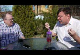 Акцию Надоел обсуждают Лаврентий Августович и его помощник Шурка
