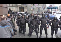 ВИНТАЖНАЯ ПРОГУЛКА ОППОЗИЦИИ: Аресты и фашистский террор 2017
