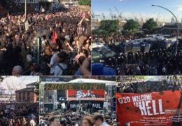 Протесты в Гамбурге против саммита G20 06 — 09 июля 2017 года Прямой эфир / Трансляция
