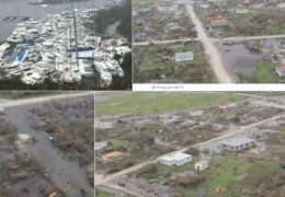 Ураган Ирма уничтожил Карибские острова и угрожает Флориде: Прямой эфир Трансляция
