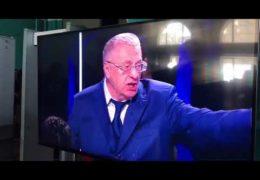 Жириновский назвал Собчак проституткой и был облит водой: Пародия на дебаты в парашном ЗомбоЯщике