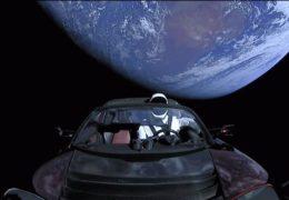 SpaceX Илона Маска: Запуск автомобиля Тесла в космос ракетой Falcon Heavy 07 февраля 2018 года Прямой эфир Трансляция